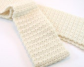 Crochet Scarf,  Made to Order, Textured Scarf, Warm Accessories, Winter On Etsy