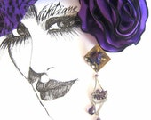 CHRISTMAS SALE 25% OFF Powerful Purple - VickiDianeDesigns
