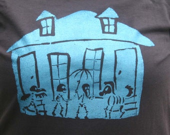 Haunted New Orleans - Womens T-Shirt