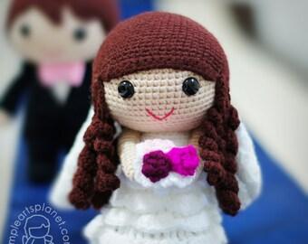 Bride Fiona, Amigurumi Wedding Pattern