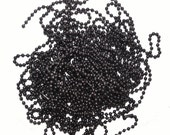 Ball Chain Necklace in GUNMETAL  for your Soldered Art Charms Avail. in 3.2mm and 6mm