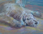 Custom Pet Portrait, Personalized Painting, Dog Pastel Painting, Original Pastel Dog Art, Perfect Gift for Pet Lovers, Shaggy Dog, Cute Dog