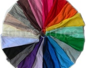 5 t-shirt knit headbands // unbelievably soft // pick your mix from 20 colors