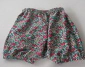 Liberty of London Baby Bloomers- Size 6 months