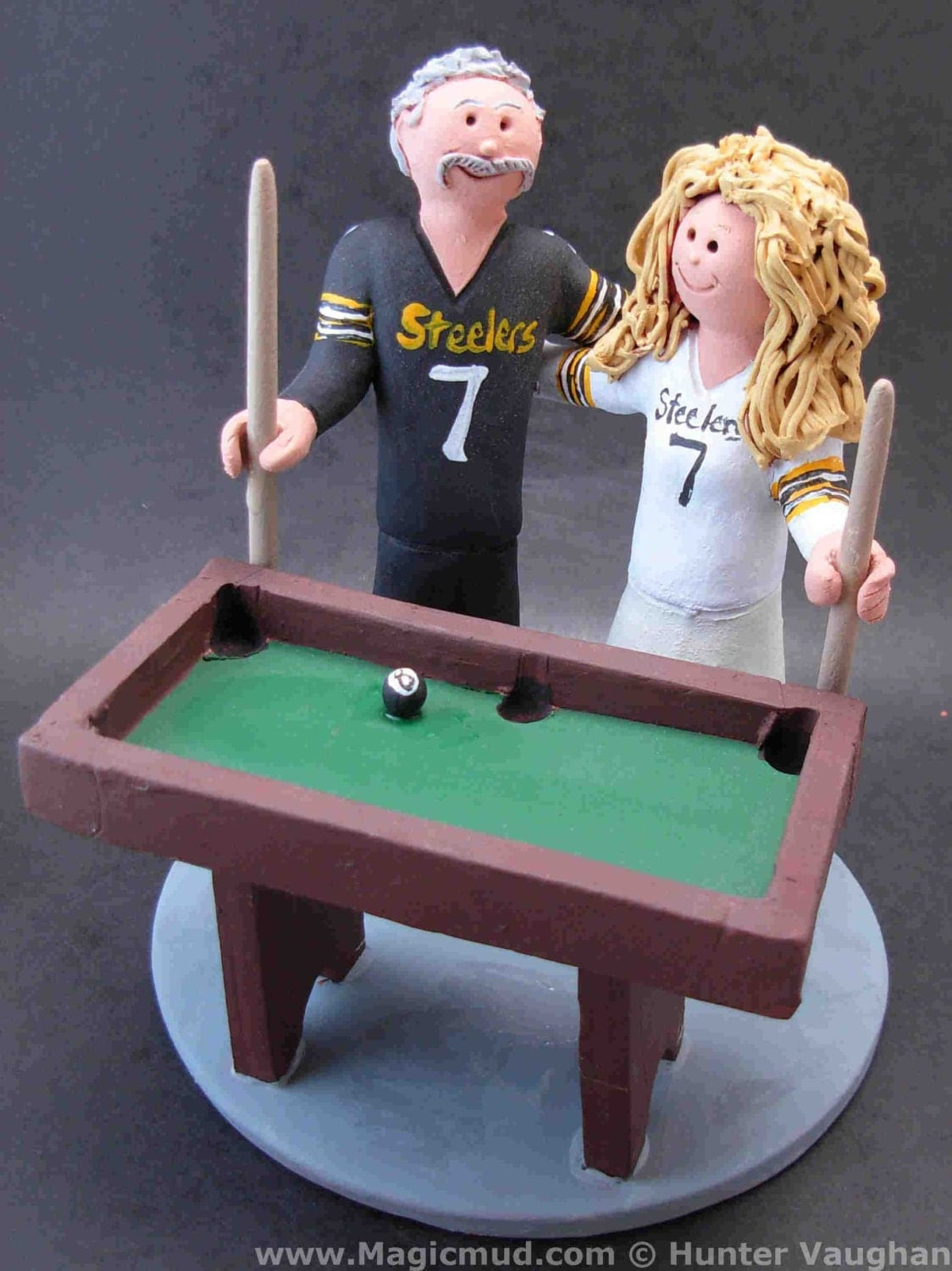 Billiard Cake Topper