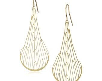 Dichotomous Earrings (gold)