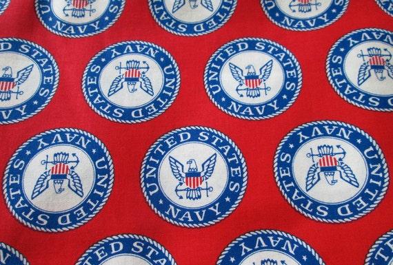 Sweet Springs (MO) United States  city images : US NAVY Fabric United States Navy Sailor Eagle & Anchor Emblem ...