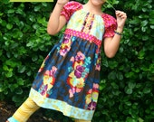 Girls Floral Dress - Ready to Ship