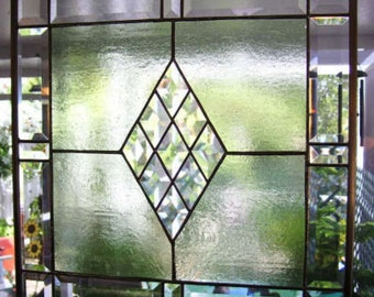 21 Inch Victorian Bevel Kit (Bevels only) Super Easy Instructions for Beginners Stained Glass project. Clear GLASS