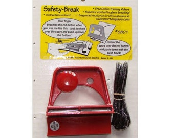 Glass Breaking System – Morton Safety Break – SB01 - Scoring and Breaking Assistance!