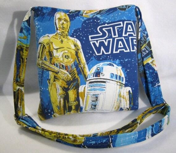 Star Wars crossbody bag themed tote purse retro by MissMotleys
