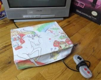 Rainbow Brite WRETRO WRAPPER console dust cover