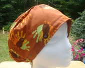 Turkey Trot Sprite Style...............Surgical Hat...Chemo Hat...Bakers Hat