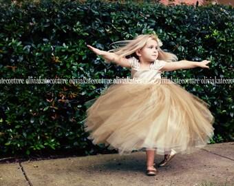 NEW Ombre Flower Girl Dress