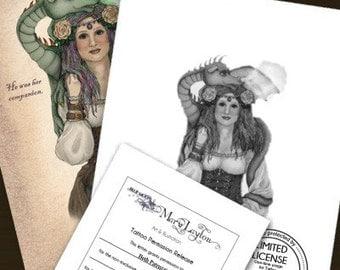 Tattoo Permission Kit - Mary Layton