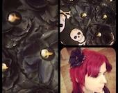 Death Orchid - Mouse Skull Resin Hairflower