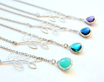 Twig Lariat Necklace, Best Seller, Bridesmaids gift, maid of honor gift, Wedding Jewelry, Gift