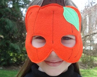 Halloween Pumpkin Mask - Child Size - Costume Accessory - Jack-o'-lantern Mask