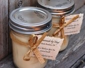 Pair of Sip-o-Barbara Spice Tea Scented Soy Candles