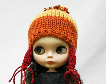 Blythe doll Cunning Jayne Cobb Hat knitting PATTERN - instant download - permission to sell finished items