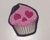 Spooky Cupcake Patch (Choose your own color background)