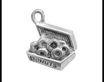 Box of Donuts Charm