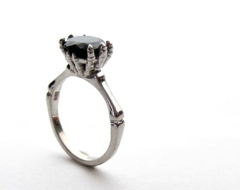 View Skull Goth Engagement by RicksonJewellery on Etsy