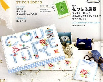 STITCH IDEAS Vol 19 - Japanese Embroidery Craft Book (SAL)