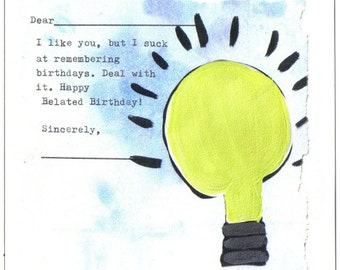 Happy Belated Birthday: Like Ya