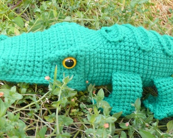 Al E. Gator Crochet pattern instant download