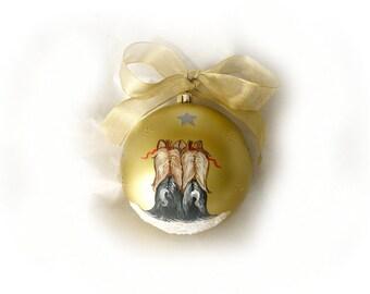 Hand Painted Custom Ornaments
