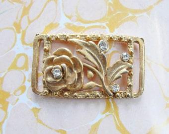 Floral Golden Connector