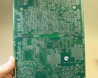 TECHIE CLIPBOARD Recycled Circuit Board Geekery MC8
