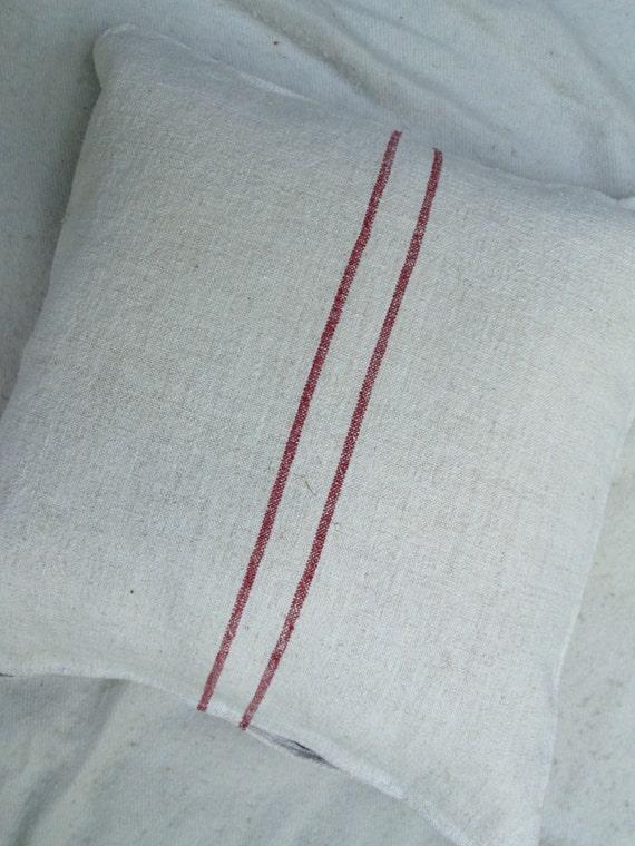 Grain Sack Pillow Sham- 22 Inches