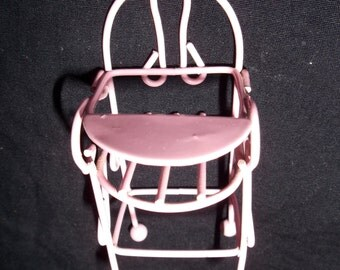 Metal Toy Doll High Chair