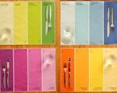 Placemats - Paint Chip Placemats - Set of 4 colors. Brighten up your home decor with colorful textiles.