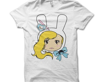 Kawaii Fionna Adventure Time T-Shirt Female Fitted