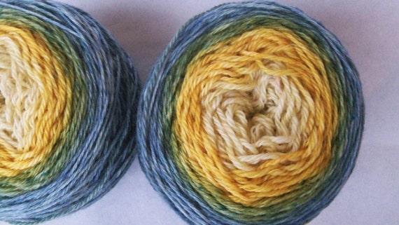 Matching Sock Set Superwash Merino Bamboo Nylon Sock Fingering Gradient Color: Cunning Riddle