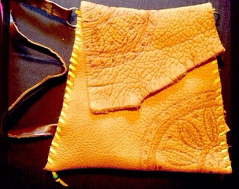 Bison Leather Bag