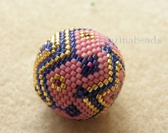 Bigball Beaded bead TUTORIAL