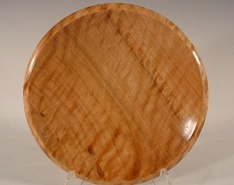 Curly Tasmanian Eucalyptus turned wood bowl number 5300