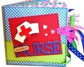 Greatest Nurse Scrapbook - Photo Album -  Paper Bag Album