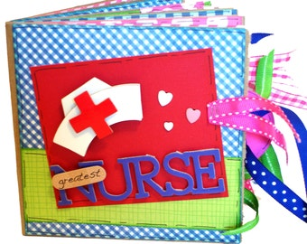 Greatest Nurse Scrapbook - Photo Album -  Paper Bag Album