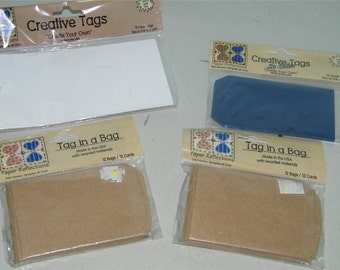 Paper Reflections Lot Tags Creative Tag in Bag 9615
