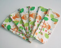 Popular Items For Monkey Flannel On Etsy