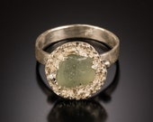 Sea Glass Rings, Sea Glass Jewelry, Aloha Ring - Sea Glass Collection *Limited Edition*