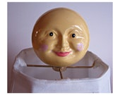 Moon Lamp Finial - Nursery Decor - Children's Lamp Finial