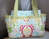 Diaper/Tote in Kumari Garden Ready to Ship