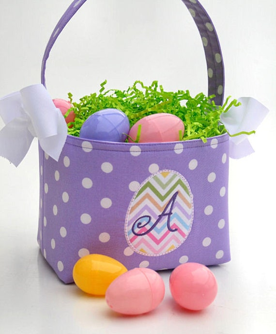 Personalized Easter Basket Egg Applique By Craftycorneremb