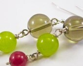 Brilliant Trio Earrings, Laura Mae Jewelry, Free Shipping, One of A Kind